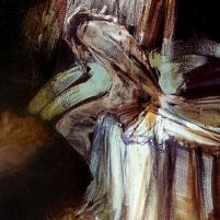 """"""" Alone """" Acyrilic on canvas"""