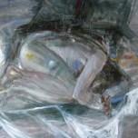 acyrilic on canvas / 90 x 90 cm
