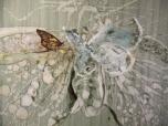 """ Metamorphosis"" mix media on canvas / 110 x 110 cm"