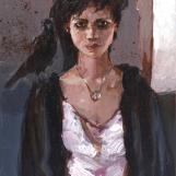 """Young Owner"" / 35 x 45 cm / Oil Color on Blocked Cartridge Paper / Soner Göksay."