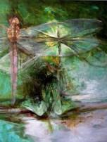 """ Kaotika 1"" oil on canvas"
