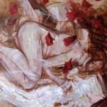 """"""" Affair """" Acyrilic on canvas"""