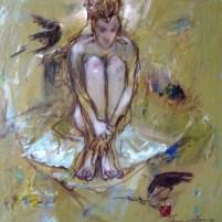 """"""" The Pure """" Acyrilic on canvas"""